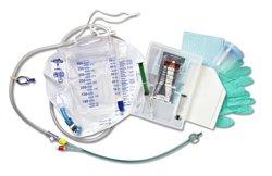 Medline Silvertouch Silicone Foley Catheter Urine Meter 18FR/10 mL 10 Pcks