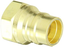 Hansen Eaton Brass One-Way Shut-Off Pneumatic Fitting Plug - Size: 2.17""