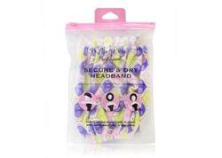 Bath Accessories Secure & Dry Headband - Purple