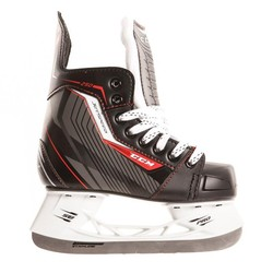 CCM Jetspeed 250 Youth Hockey Skates - Black/Red - Size: 1D