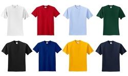 Men's Active & Sporty Moisture-wicking 5 Pack Tees: Assortment 1/medium