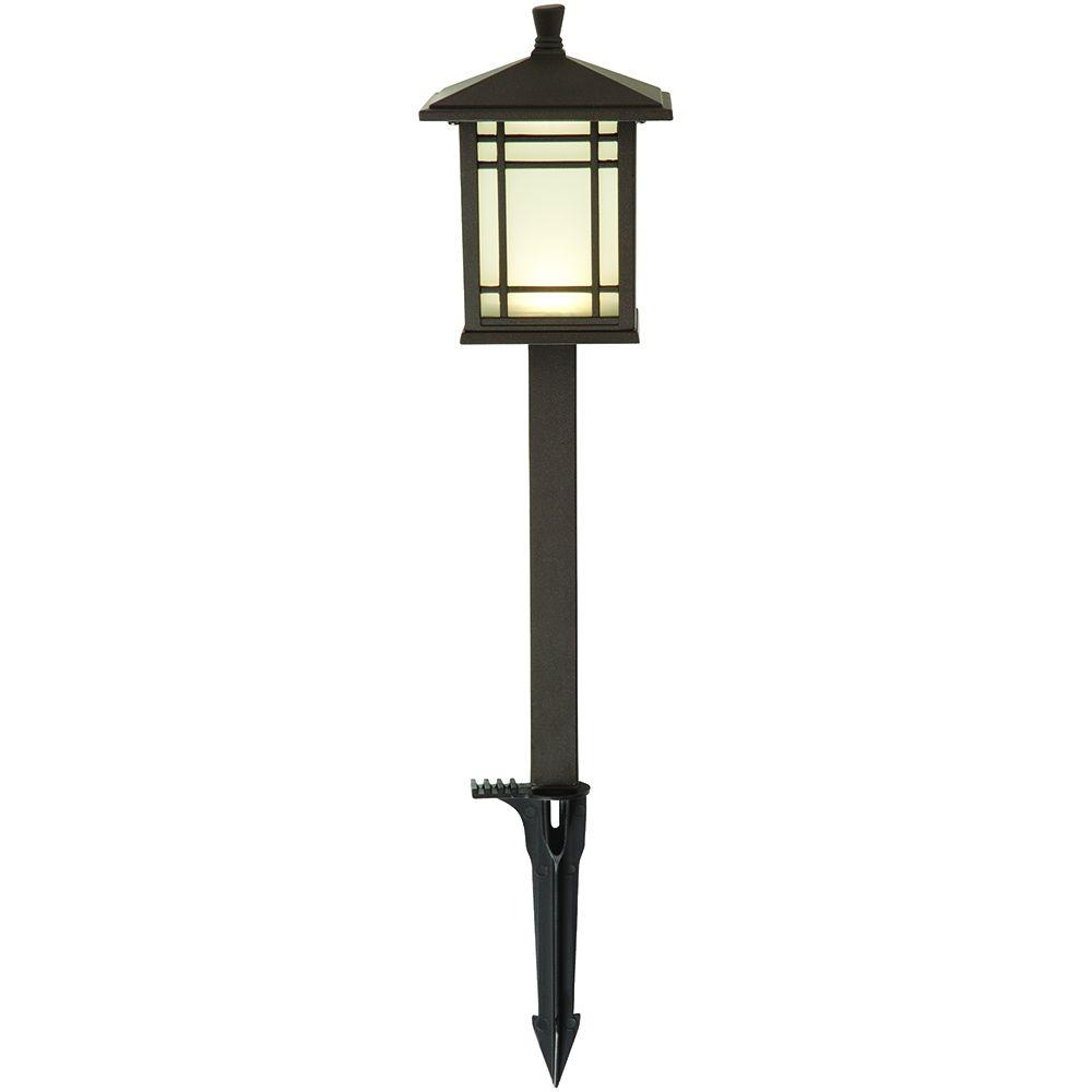 Hampton bay 29607 low voltage bronze mission led outdoor path light hampton bay 29607 low voltage bronze mission led outdoor path light aloadofball Choice Image