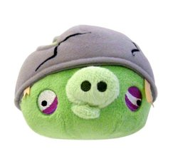 """Angry Birds 16"""" Plush Helmet Pig With Sound"""