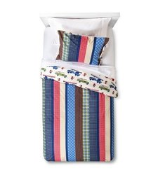 Nathan Quilted Bedding Set - Sheringham Road - Multi - Size: Twin