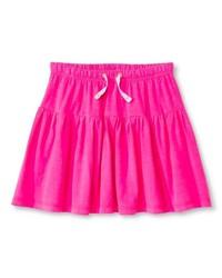 Girls' Short Knit Skirt Pink - Cherokee - Size: XS