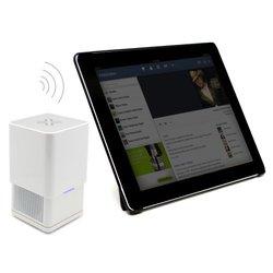 Lenmar SPK300W Rise Ultra-Portable Bluetooth Speaker - White/Silver
