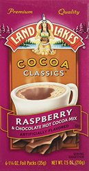 Land O Lakes Chocolate & Raspberry Classics Hot Cocoa Mix - 1 Box - 6Packs