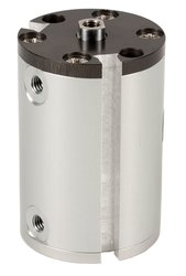 "Fabco-Air 3/4"" Bore Diameter x 3"" Stroke Double Acting Pancake Cylinder"