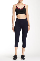 Bally Fitness Women's Tummy-Control Leggings - Midnight Blue - Size: M