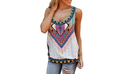 Aztec Tank Top: Large