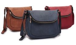 Dasein MKC Skorpiosr Women's Crossbody Handbag - Navy