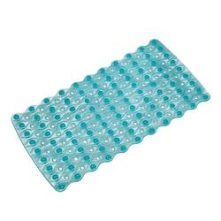interDesign Multiple Skid-Resistant Pebblz Bath Mat - Blue