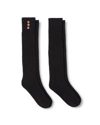 Merona Women's Casual Socks - Black - Size: 4-10