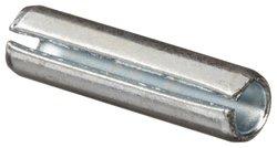 "Steel Spring Pin Zinc Plated Finish 7/32"" Nominal Diameter 1-7/8"" Length"