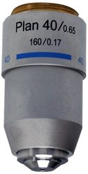 National Optical 40XR DIN Plan Achromat Objective Lens
