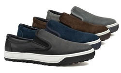 Suede Hero Slip-on: Black/10.5