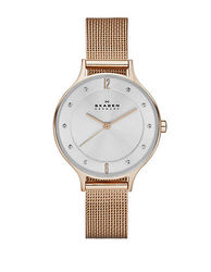 Skagen Women's Anita Watch in Rose Goldtone Mesh