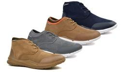 Men's Scout Shoes: Sand-mid Cut/size 10.5