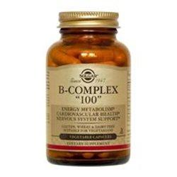 """Solgar, B-complex """"100"""", 100 Veggie Caps"""