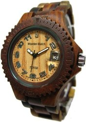 Tense Wooden Watch - Compass Collection
