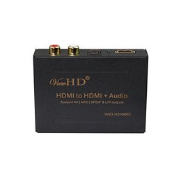 ViewHD HDMI Audio Extractor Support Ultra HD Video Audio Output