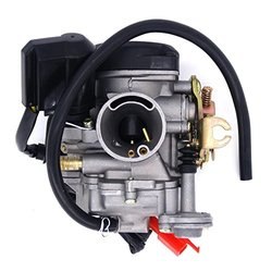 Super Parts New 49cc Scooter Carburetor GY6 Four Stroke with Jet Upgrades