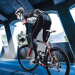 ColorGo Road Pedals w/ Cleats SPD-SL Pedal & 6 Degre Float Bike Cleats Set