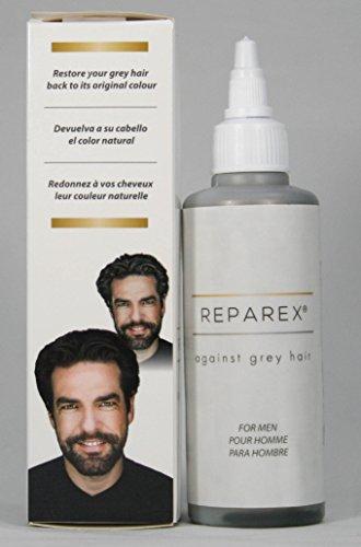 Gray Hair Treatment Formula for Men - Natural Hair Color Restoration ...
