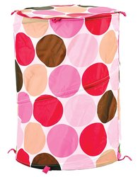 Sassy Mod Pop Up Soft Fabric Portable Organizer - Pink