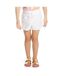 Lilly Pulitzer Infant Toddler Girls' Eyelet Shorts - White - Size: 2T