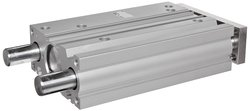 SMC MGPM63TN-100Z Aluminum Air Cylinder with Guide Rod Plate