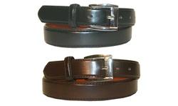 Buy 1 Get 1 Free: Men's Genuine Leather Dress Belts: Xl