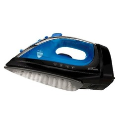 Sunbeam Garment Iron Black Lite Blue