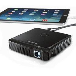 Brookstone 100-Lumen HDMI Pocket Projector Mobile