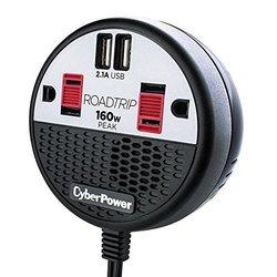 CyberPower RoadTrip 160 Power Inverter - Black/Red ( 649532619962)