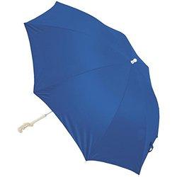 Rio SPF-50 Sun Protection 6.50 ft. Clamp-On Beach Umbrella - Blue