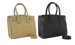 Oversized Tote Collection Handbags: Black