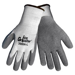 Global Glove 300IN Ice Gripster Flat Dipped Glove - Grey - Size: XL