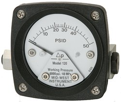 Mid-West 120-AA-00-O(CA)-50P Differential Pressure Gauge