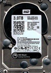 Western Digital WD3003FZEX-00Z4SA0 3TB DCM: EBRCHVJMAB