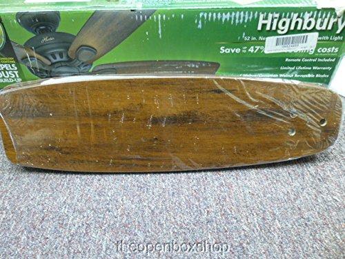 """Hunter 52006 Highbury 52"""" Indoor New Bronze Ceiling Fan ..."""