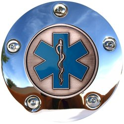 Austin Steiner ASPC-PMC Chrome Paramedic Touring Timing Cover