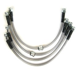 RacingBrake BL117-T stainless steel braided Brake Line for TL