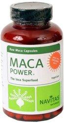 Navitas Naturals Organic Raw Maca 500mg Vegcaps, 100 Count