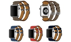 Double Strap For Apple Watch - 42mm/gray