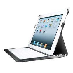 Kensington KeyLite Black Keyboard/Cover Case for iPad 2, 3, 4- K39598US