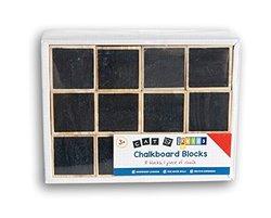 Classroom Learning Play Chalkboard Blocks Set - 10 Count