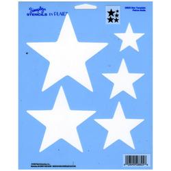 "Simply Stencils 8""X10""-Star Template"