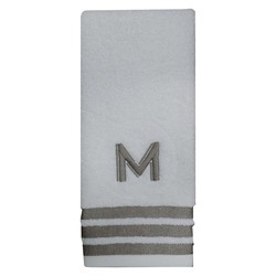 Threshold Modern Monogram Hand Towel - M
