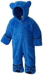 Columbia Baby Boys' Foxy Baby II Bunting, Super Blue/Collegiate Navy, 6-12 Months